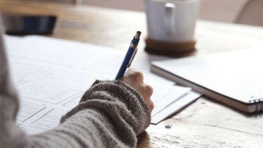 Forskellige former for skriveteknikker